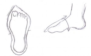ME how-to shoe pattern