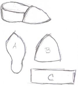 ME shoe pattern